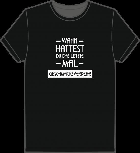 T-Shirt Geschmacksverkehr