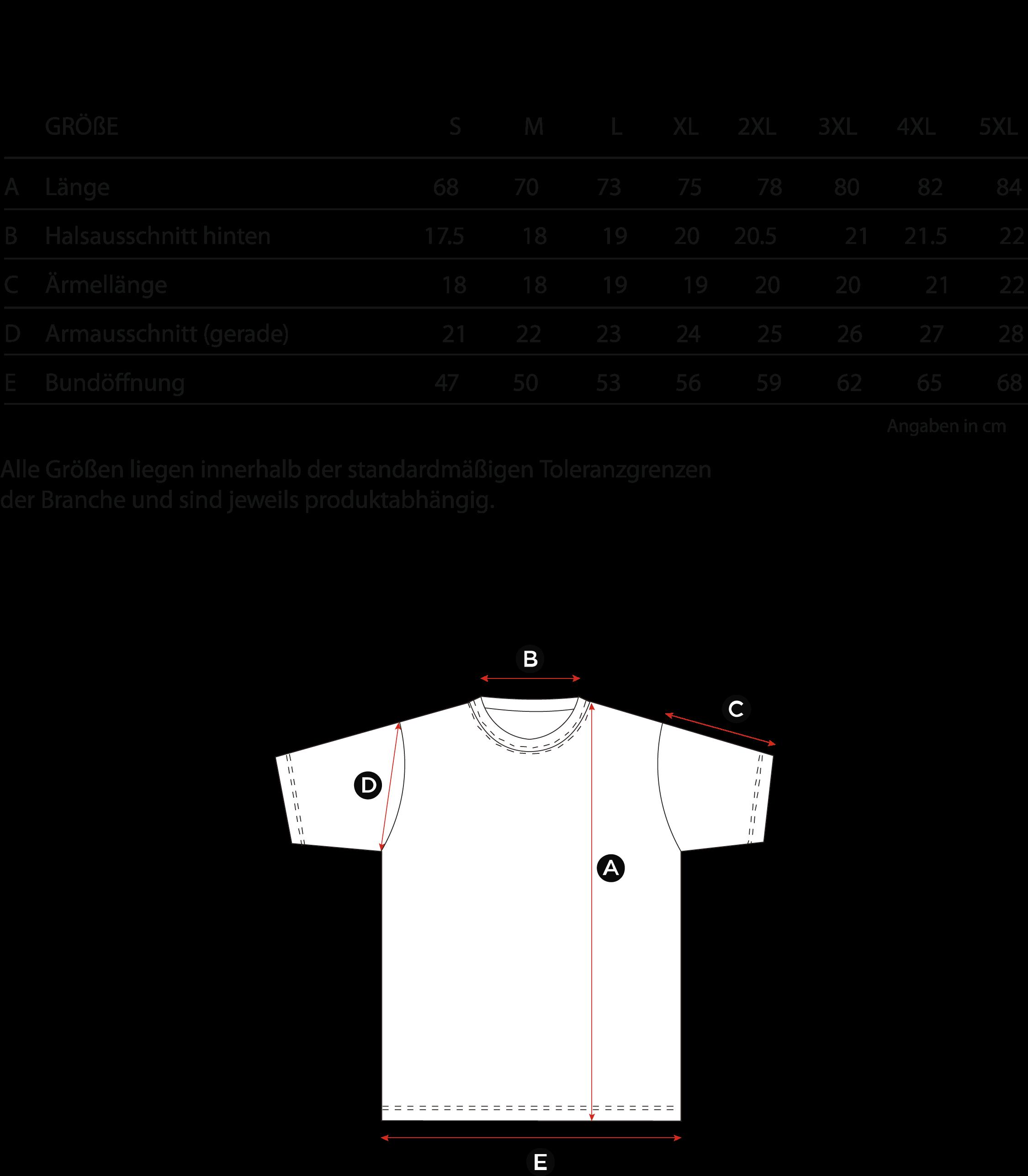Gro-ssentabelle-T-Shirt