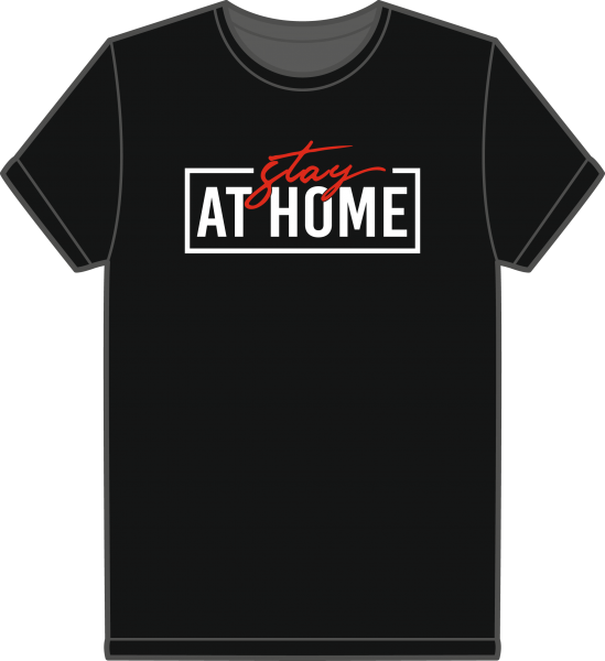 Kinder T-Shirt Stay at Home